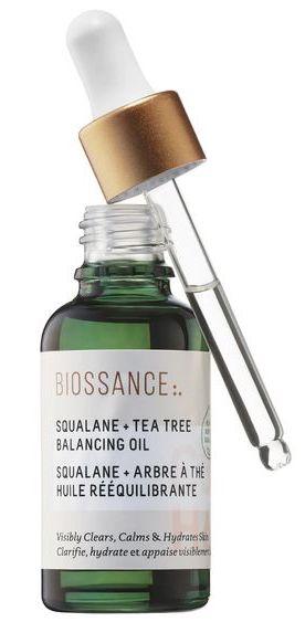 Biossance Squalane + Tea Tree Balancing Oil